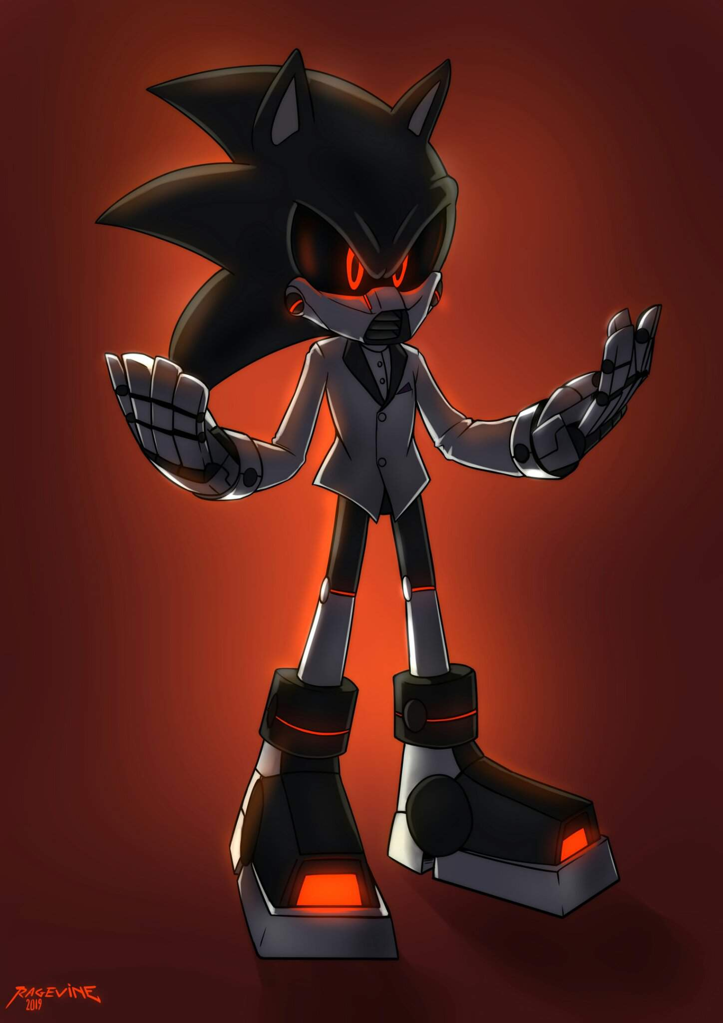 Commission Art Evil Boss Sonic The Hedgehog Amino
