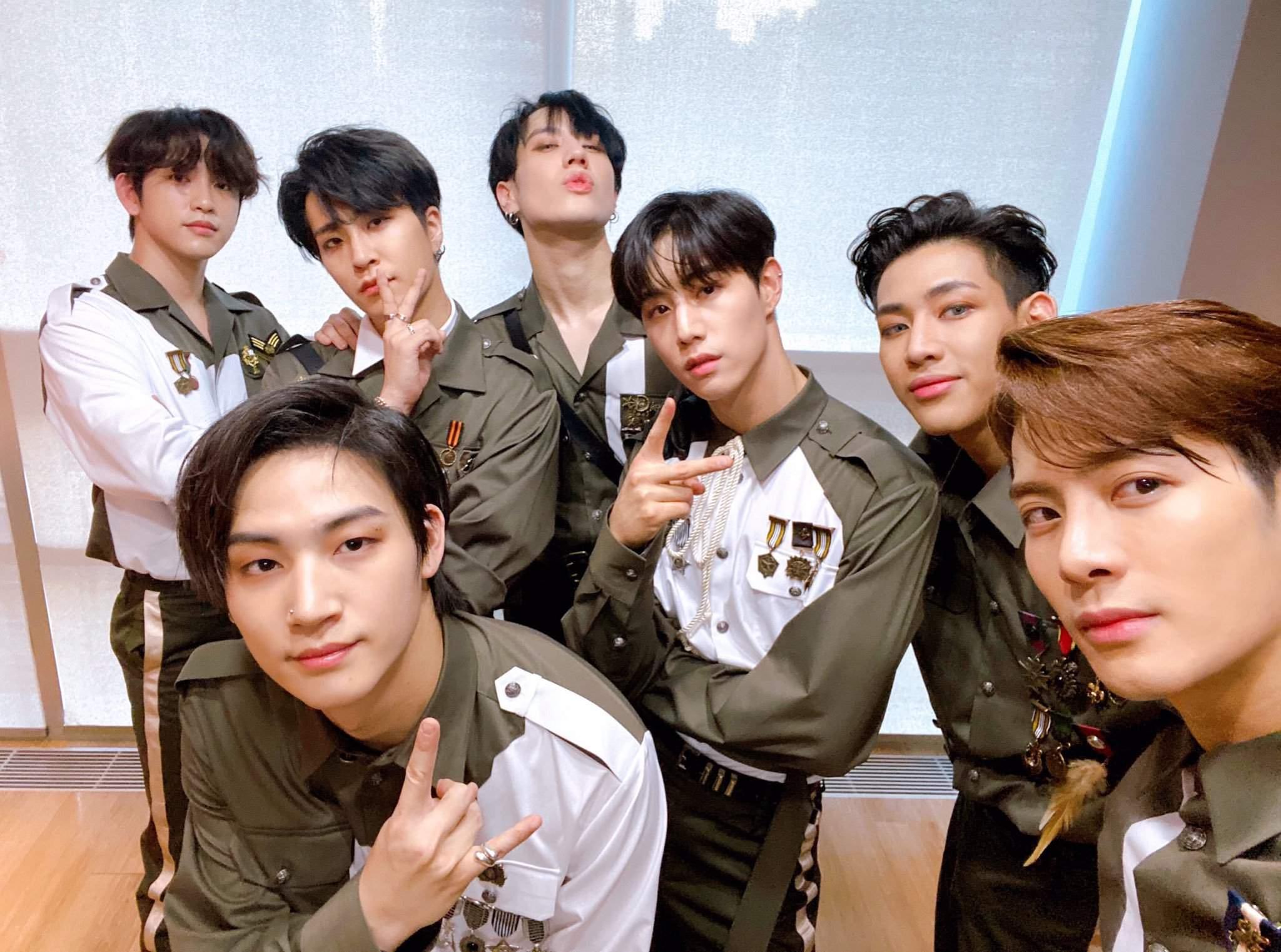 got7 jackson youngjae yugyeom mark jinyoung got update wang amino igot7 heart