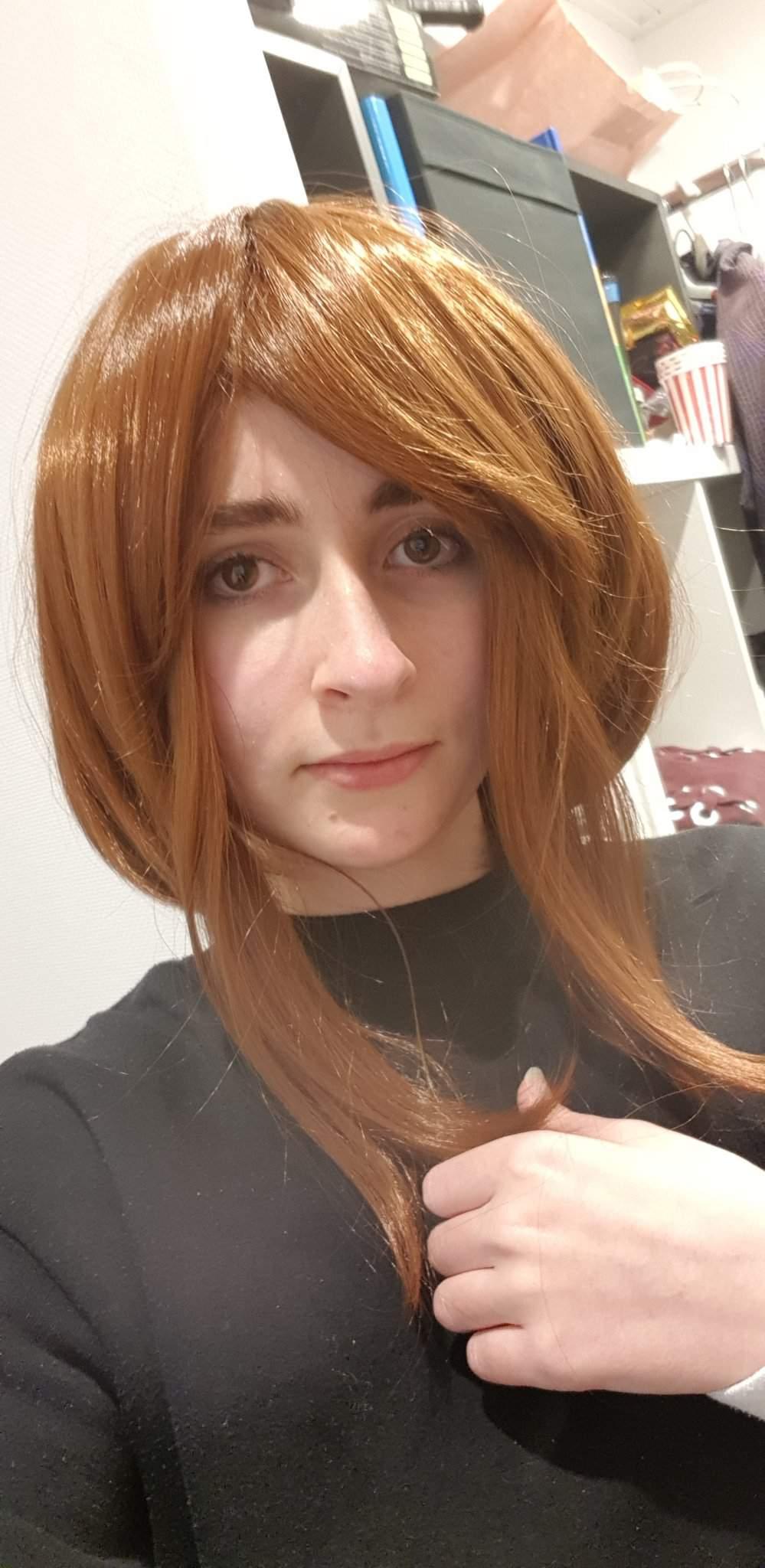 Finally got my Uraraka wig 😊 - Cosplay Amino