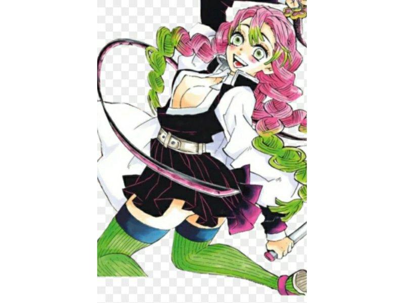 Mitsuri Kanroji Fanart Anime Amino Manga anime fanarts anime manga art anime characters anime art demon slayer slayer demon slayer: amino apps