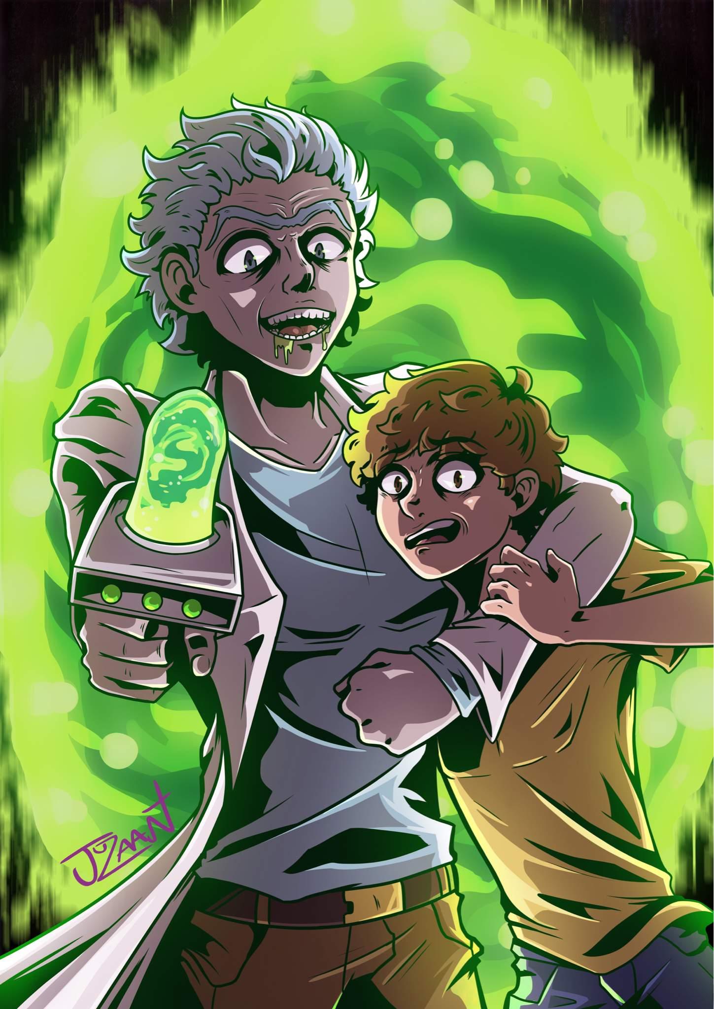 Rick And Morty Anime