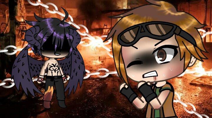 I M Bored So I Decided To Make A Gacha Life Edit With Hwoarang And Devil Jin Instead Tekken Amino Amino