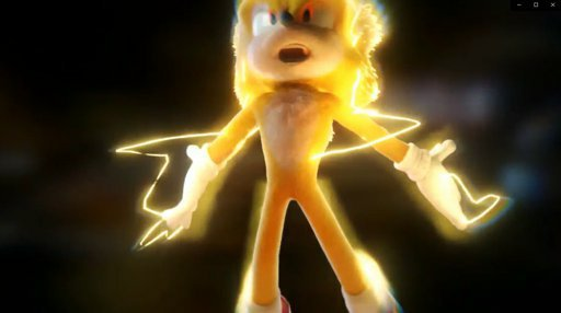 Sonic Turn Super In The Movie 2020 Sonic The Hedgehog Amino