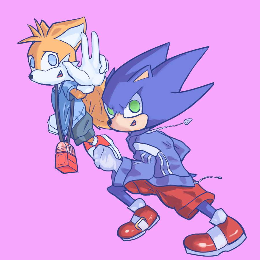 Sonic And Tails And The Quest For Anime Tiddy Sonic The Hedgehog Amino
