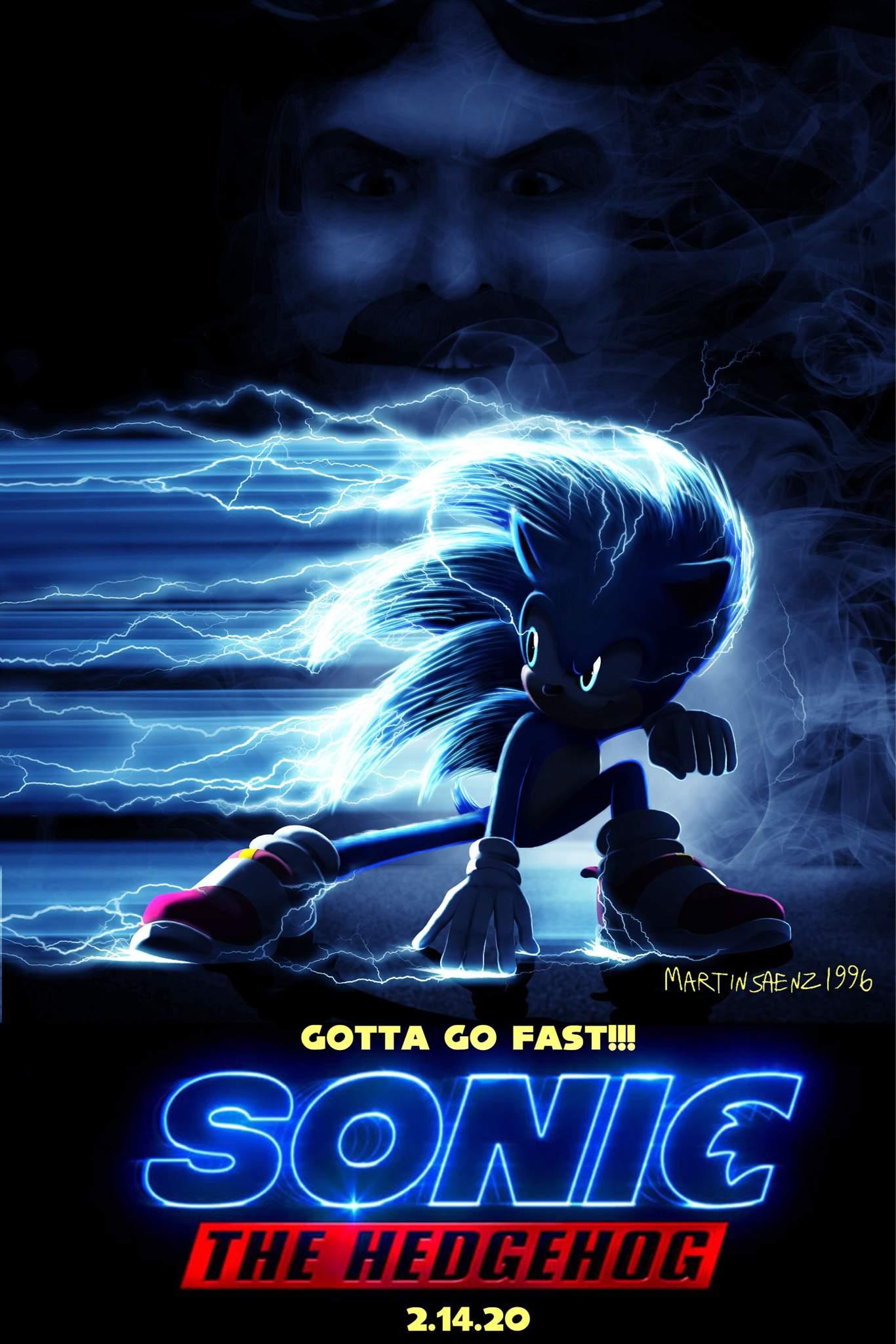 Sonic Movie Poster Mockup Sonic The Hedgehog Amino