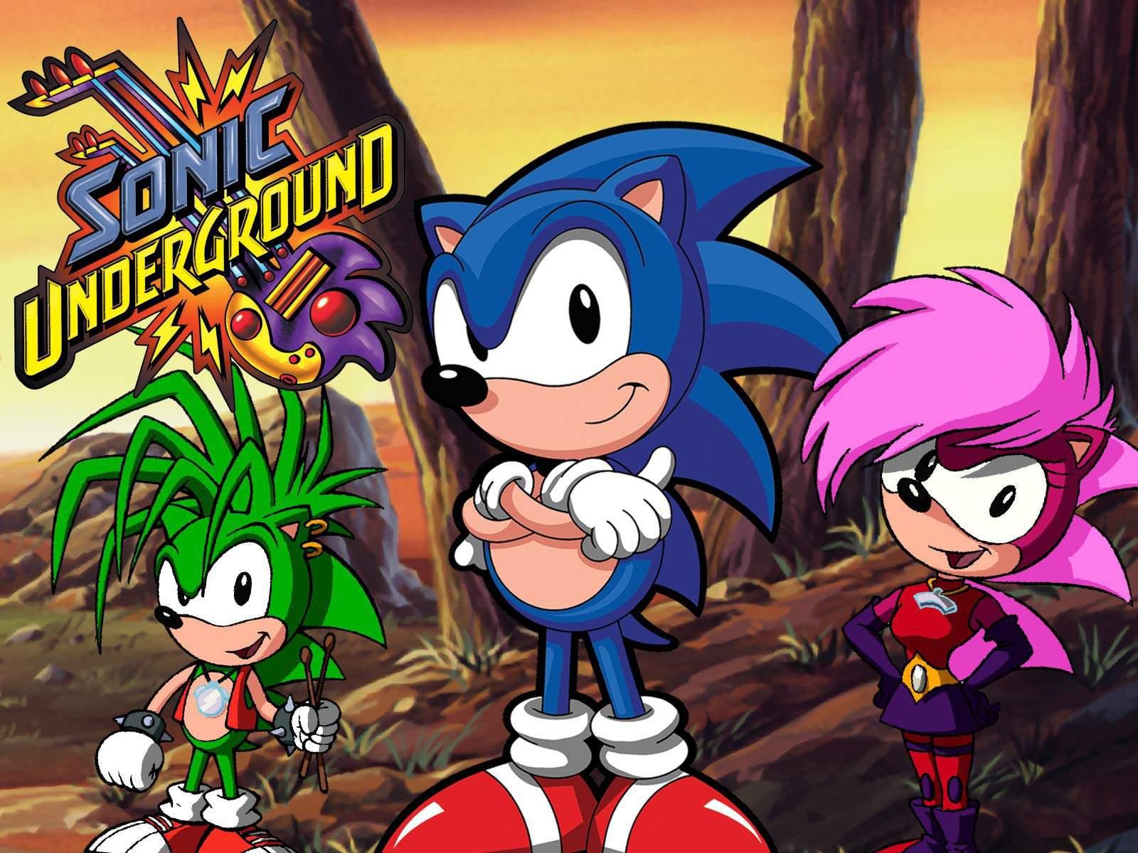Sonic Underground Sonic The Hedgehog Amino