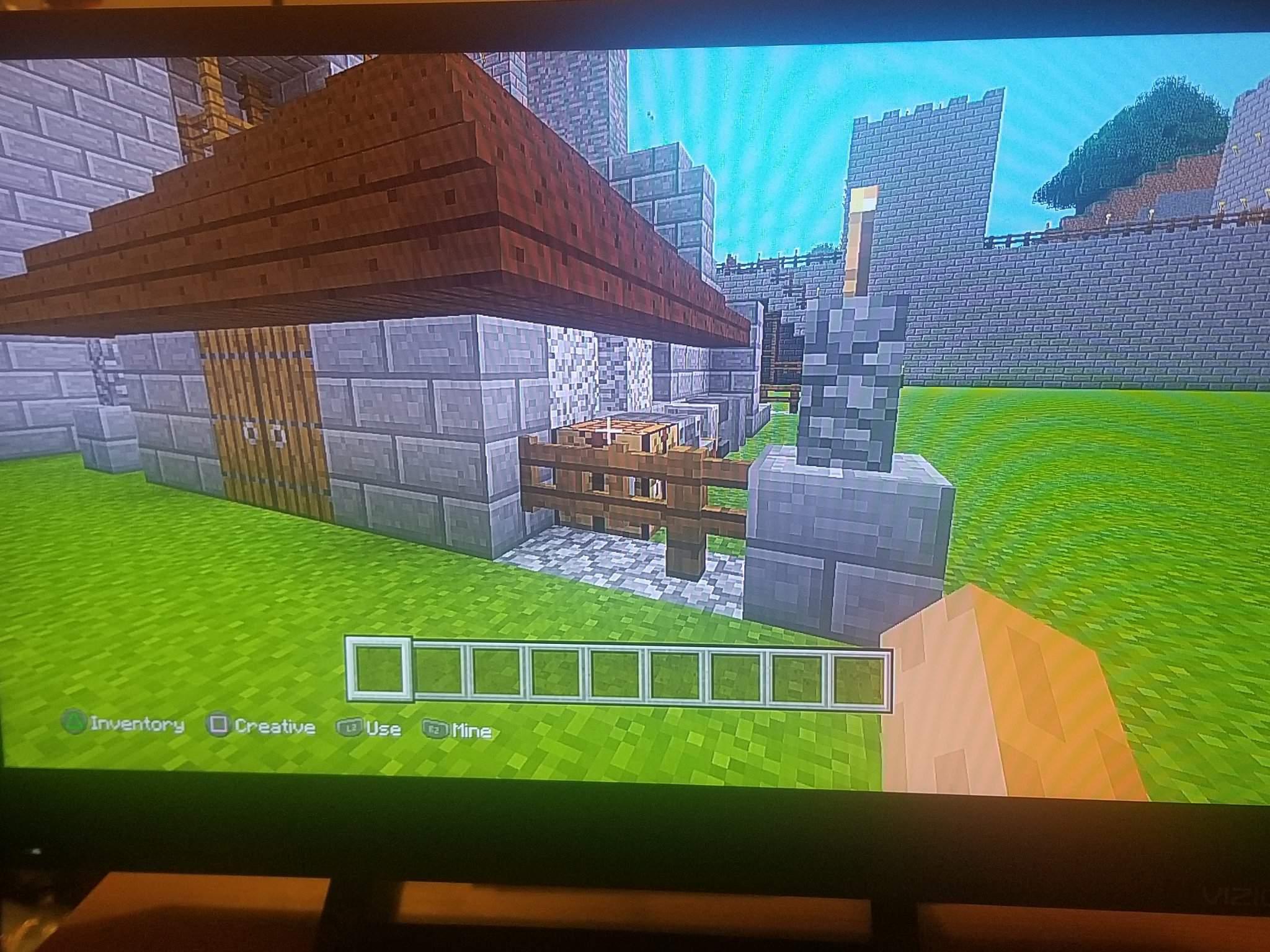 Castle Interior Building Blacksmith Minecraft Amino