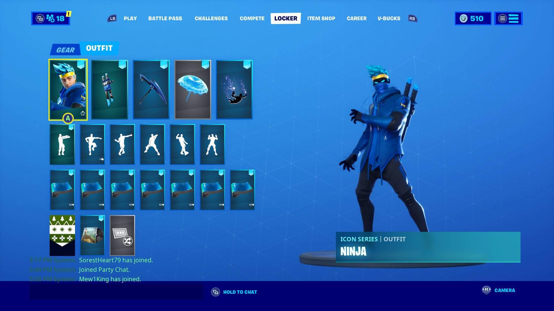 Got The Ninja Skin Fortnite Battle Royale Armory Amino