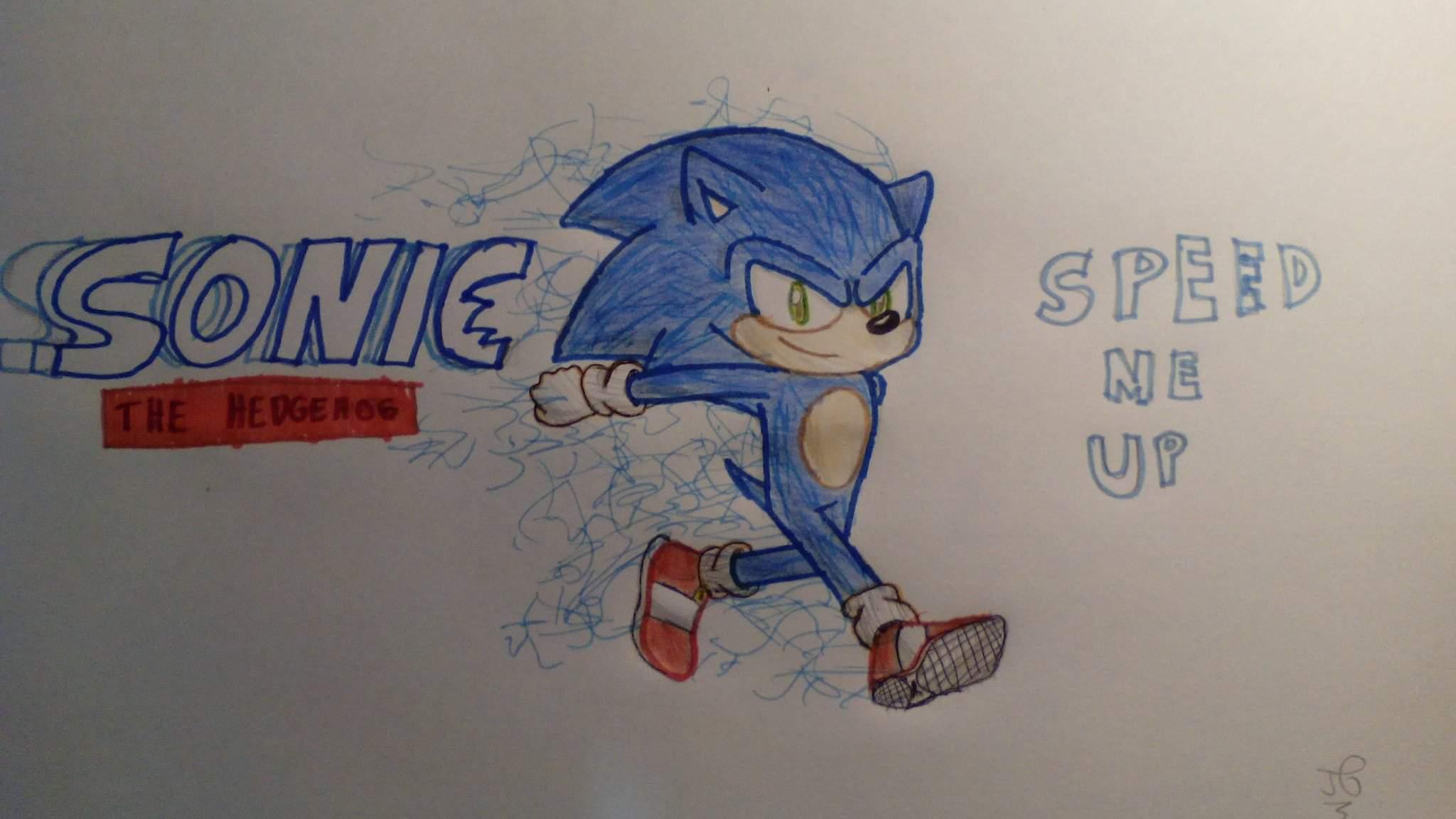 Sonic The Hedgehog Movie Drawing Sonic The Hedgehog Amino