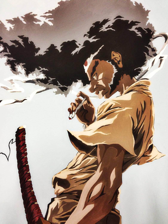 Afro Samurai Afro Samurai Vs Peko Pekoyama Danganronpa 2 Battle Arena Amino Amino