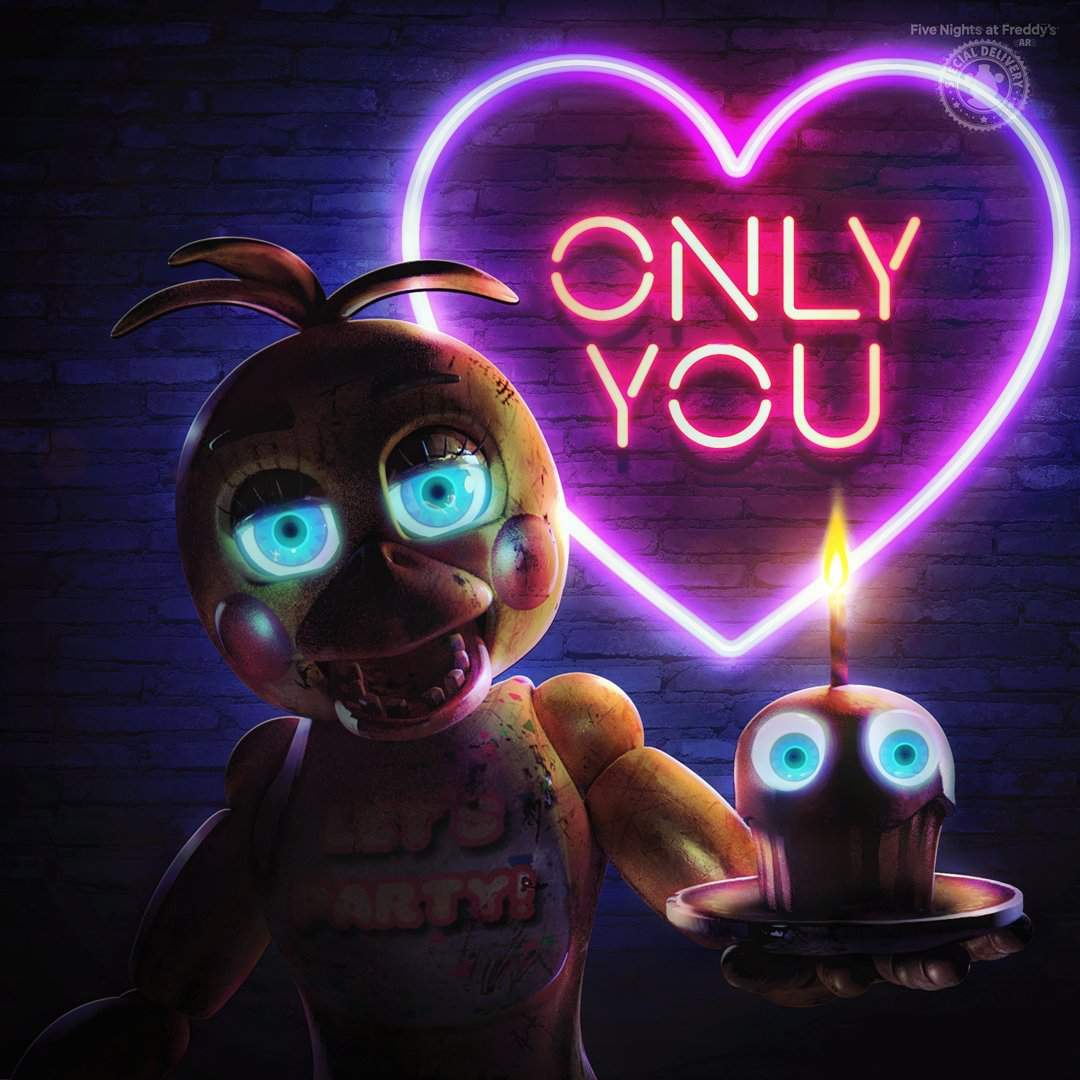 Illumix Showcases New Official Valentine's Images For FNAF