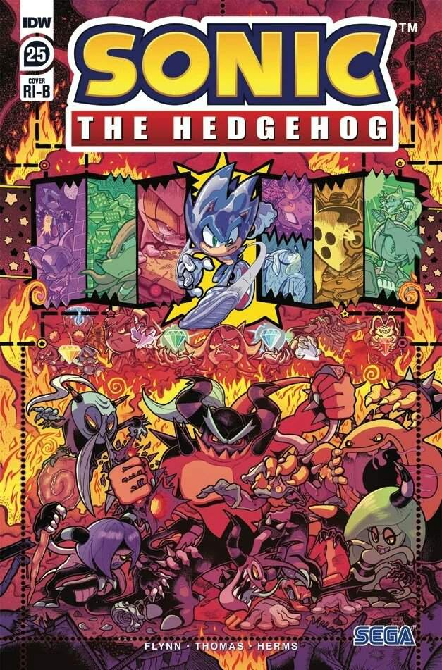 Idw Sonic The Hedgehog Issue 25 Review Sonic The Hedgehog Amino