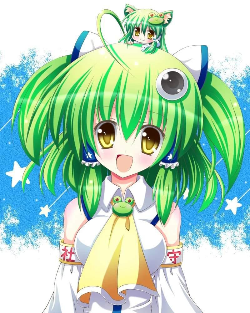 Cute anime girls with green hair  Anime Amino