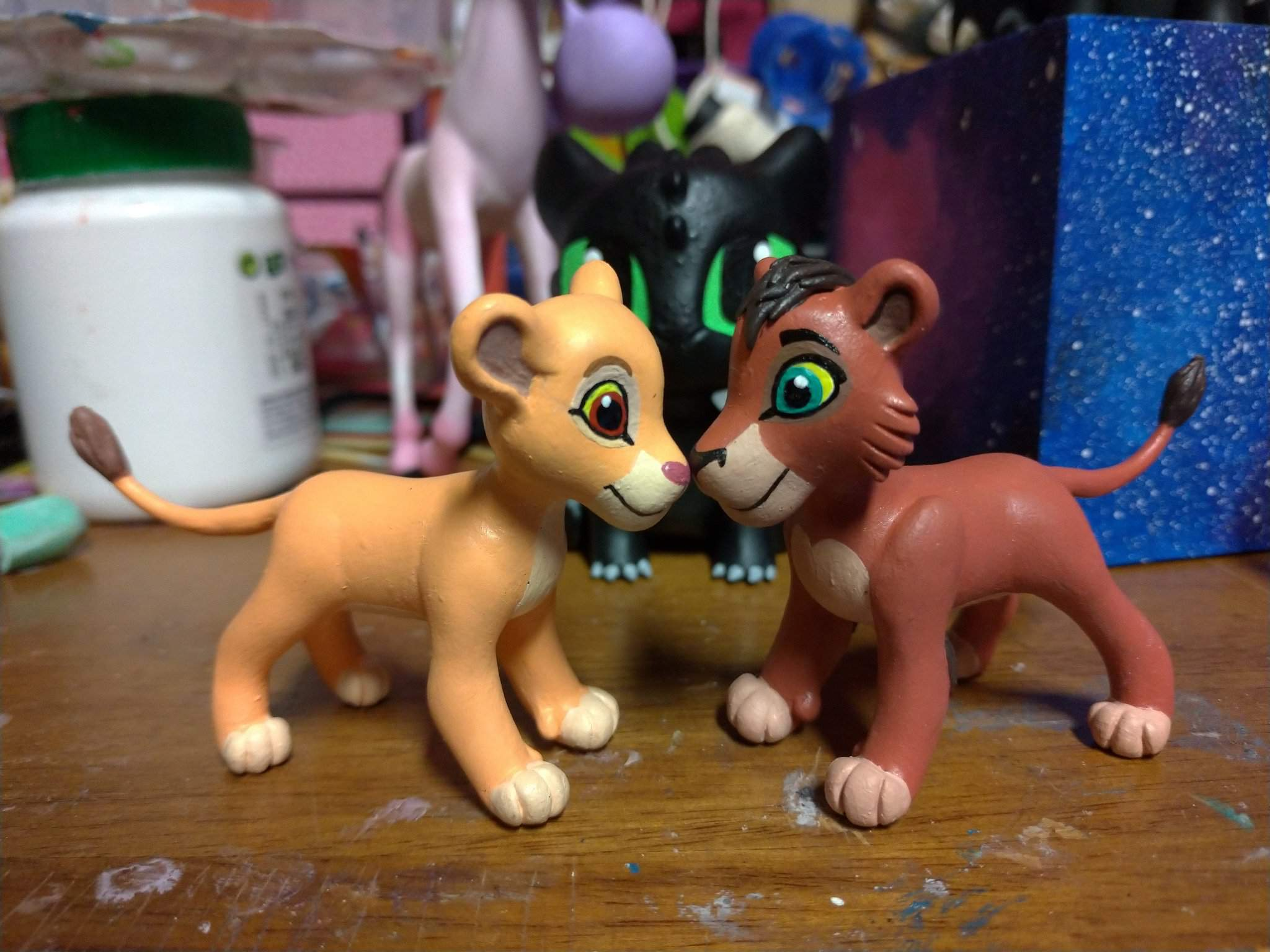 Kiara And Kovu From The Lion King 2 Simba S Pride Disney Amino