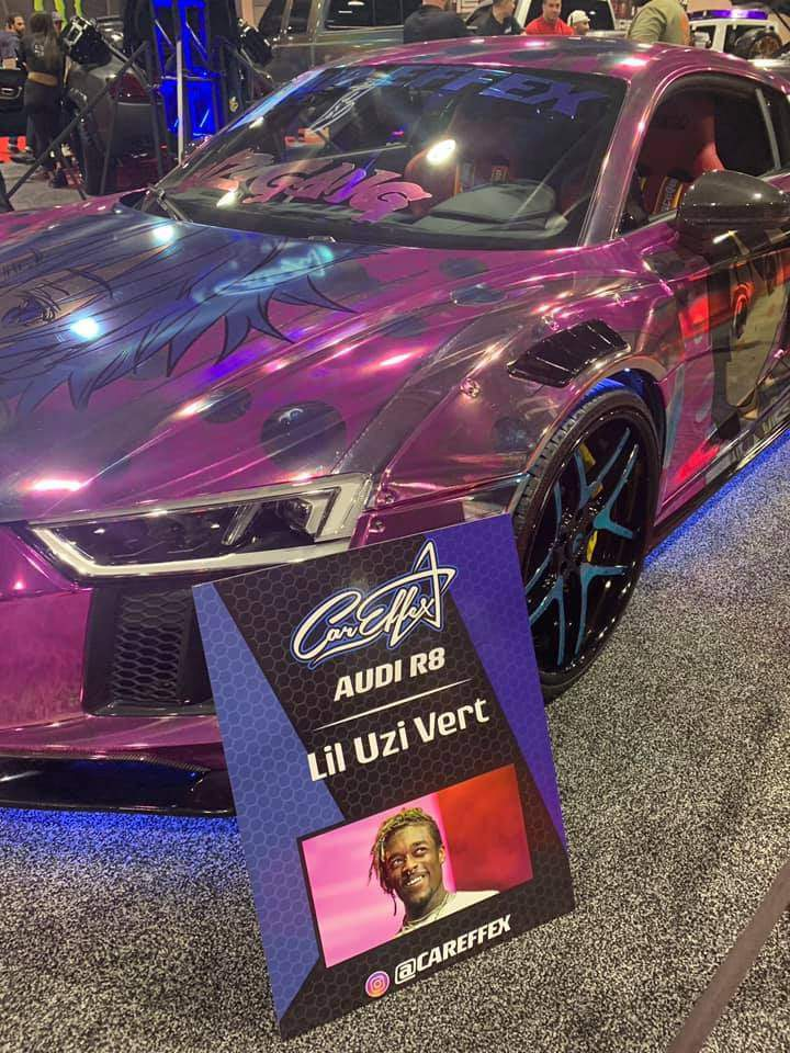 In Case You Were Interested In Knowing Lil Uzi Vert Has A Crazy Itasha Collection Anime Amino