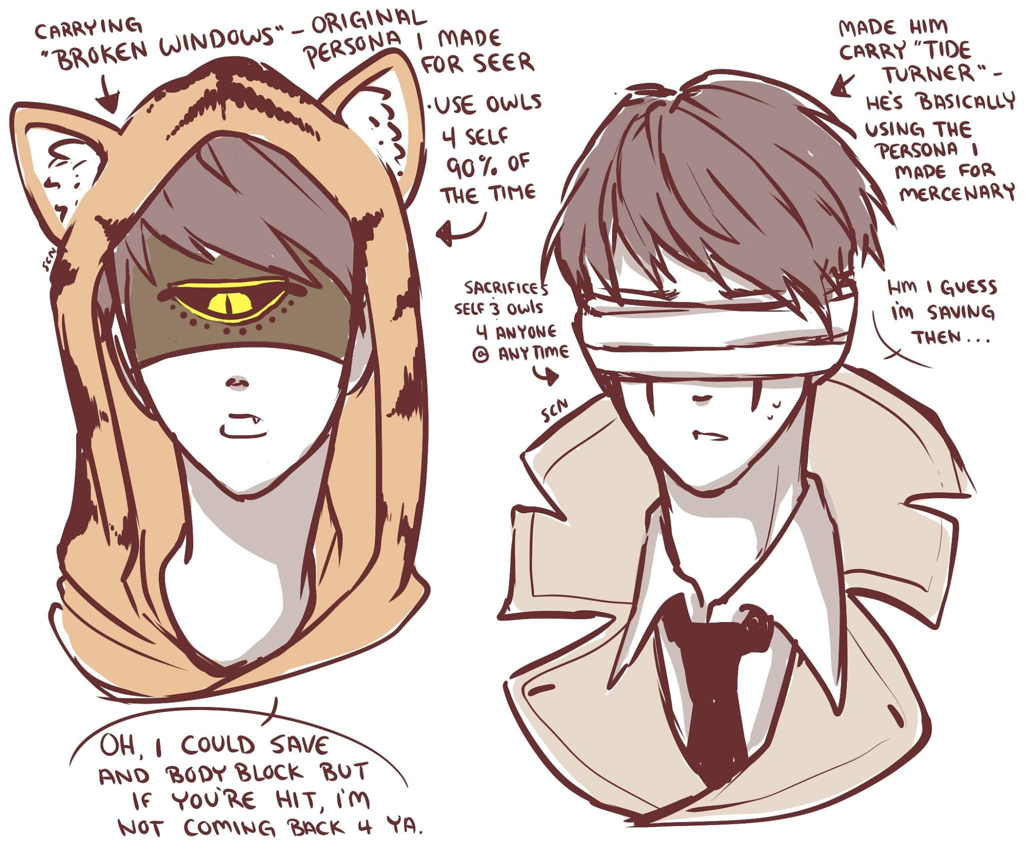 Tiger And Recluse Identity V Official Amino