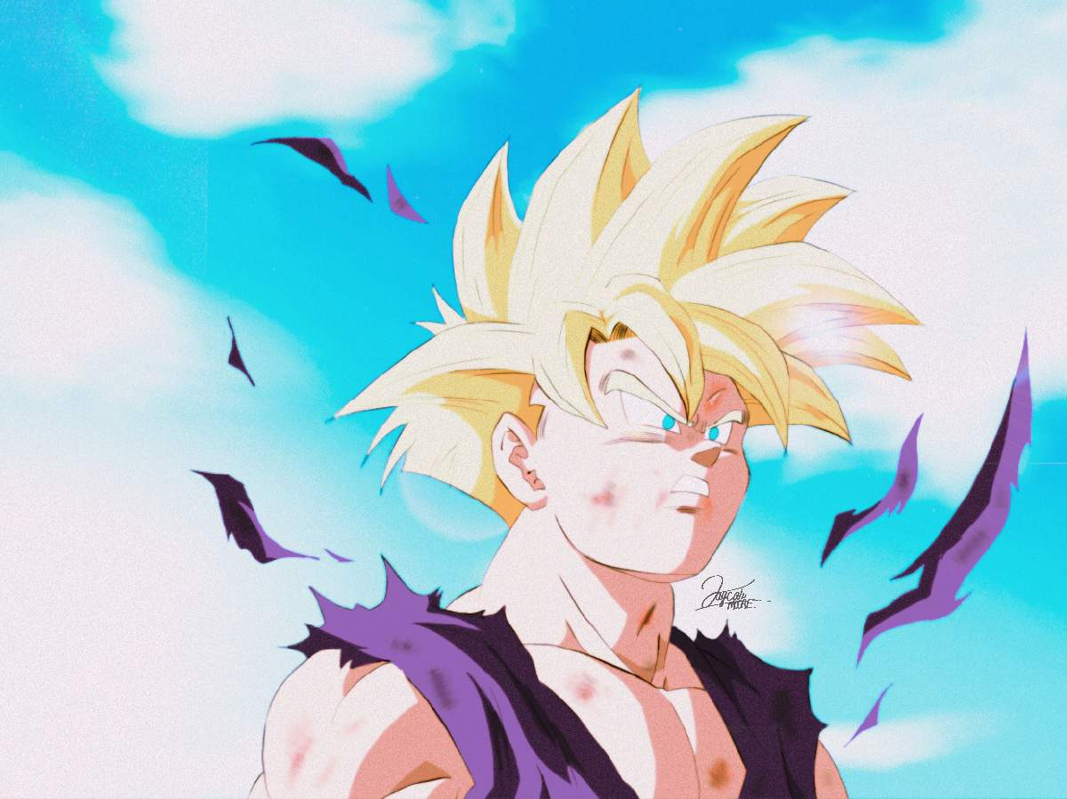 Ssj Teen Gohan Dragon Ball Z Anime Amino Fight is on a indestructible planet. amino apps