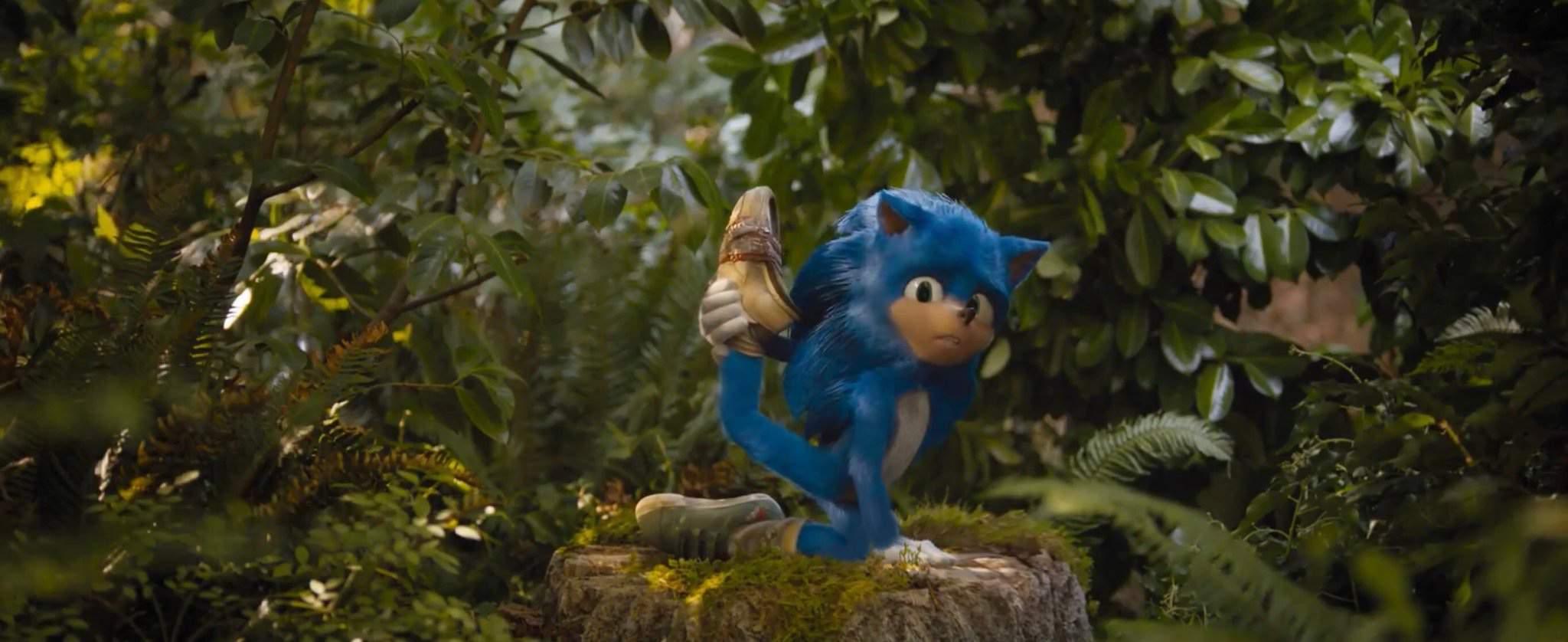 Sonic Movie Old Design Leak Sonic The Hedgehog Amino