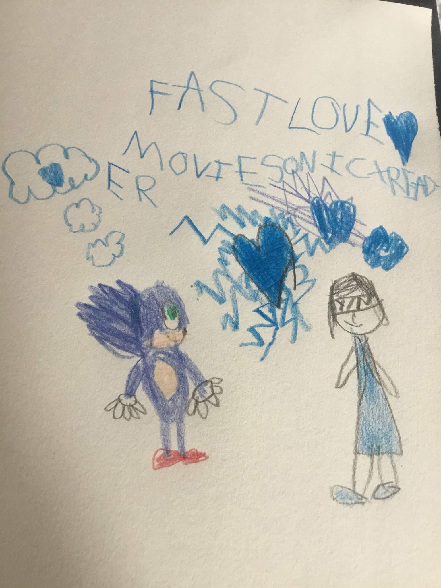 I Made A Cover For My Movie Sonic X Reader Fanfic Sonic The Hedgehog Amino