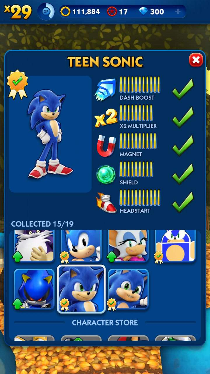 Finally 100 Upgraded Teen Sonic And Baby Sonic In Sonic Dash Sonic The Hedgehog Amino