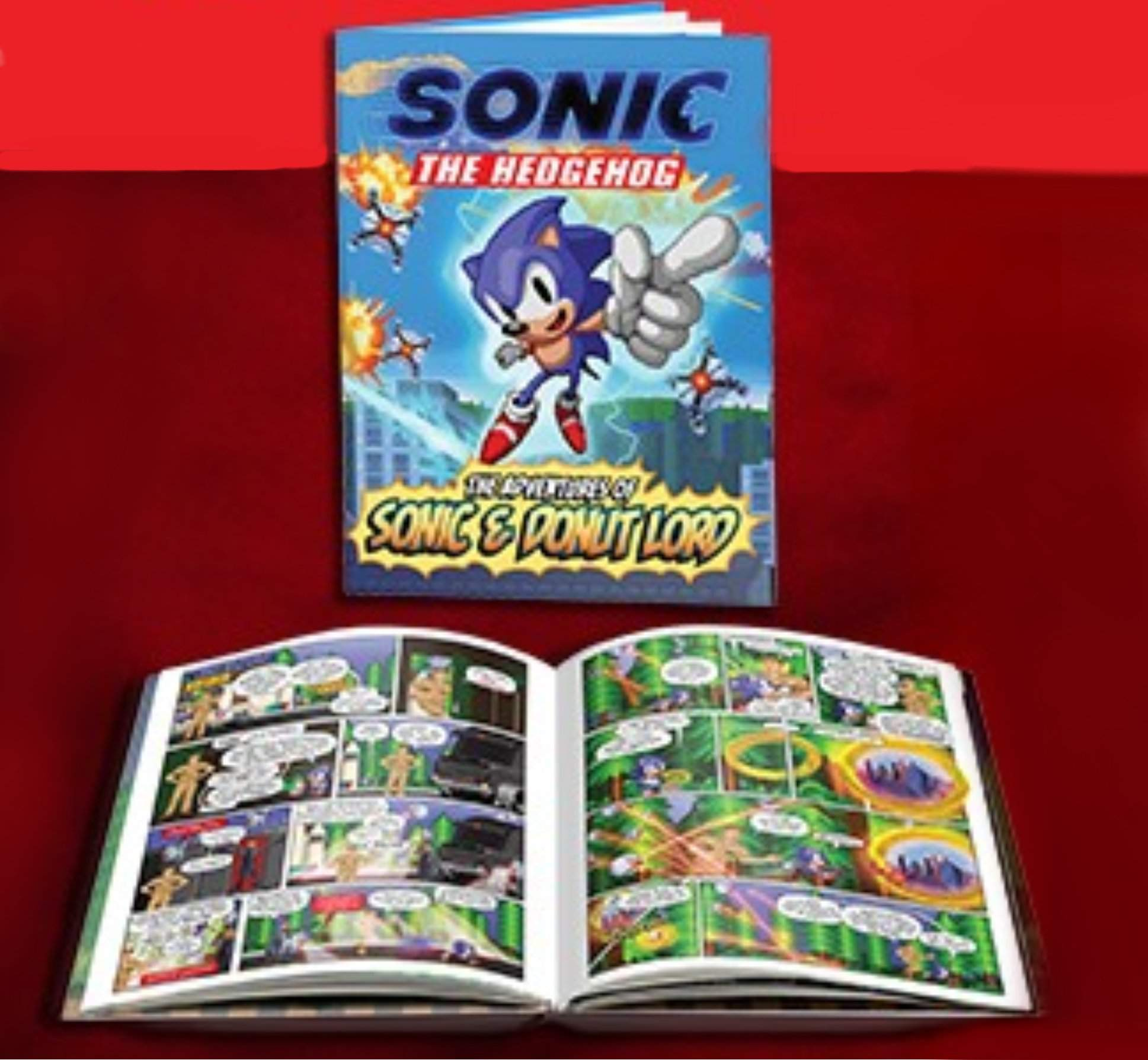 The Sonic Comic Book Will Be Limited Edition Sonic The Hedgehog Amino