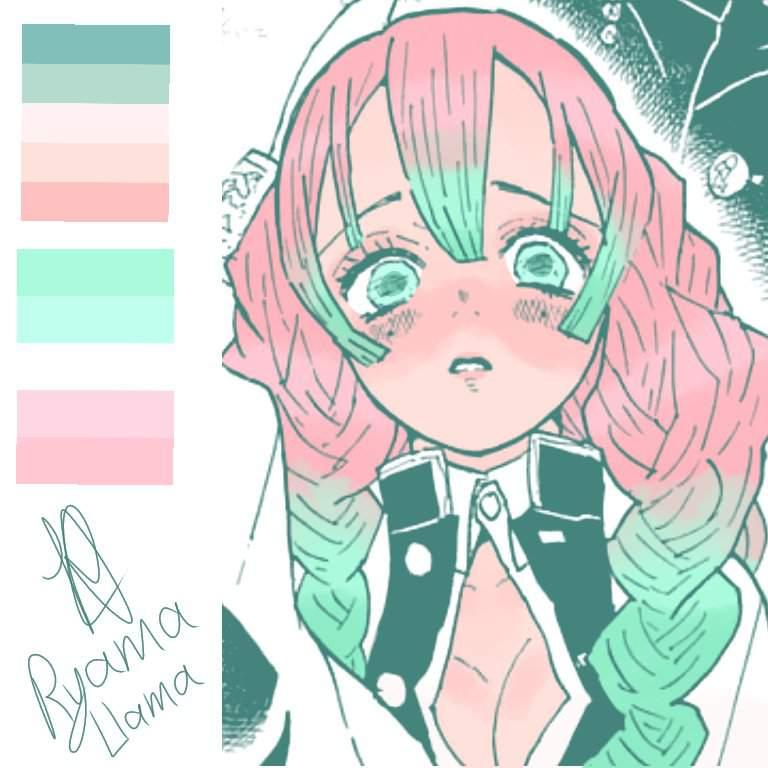 Soft Coloring For Manga Mitsuri Demon Slayer Kimetsu No Yaiba Amino For young tanjirou, these rumors will soon to become his harsh reality… amino apps
