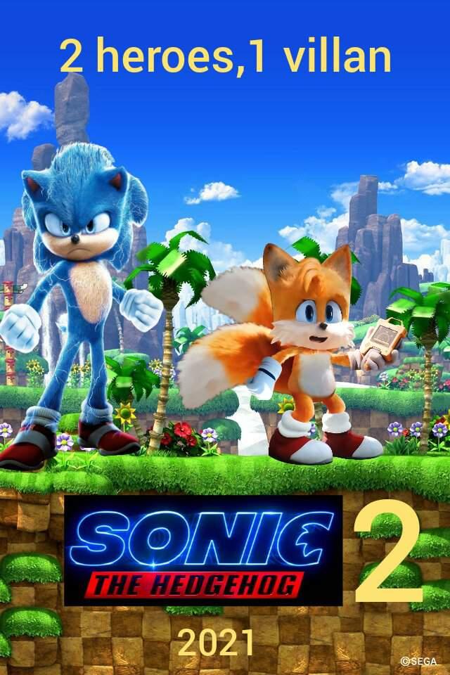 sonic the hedgehog 2 movie 2021