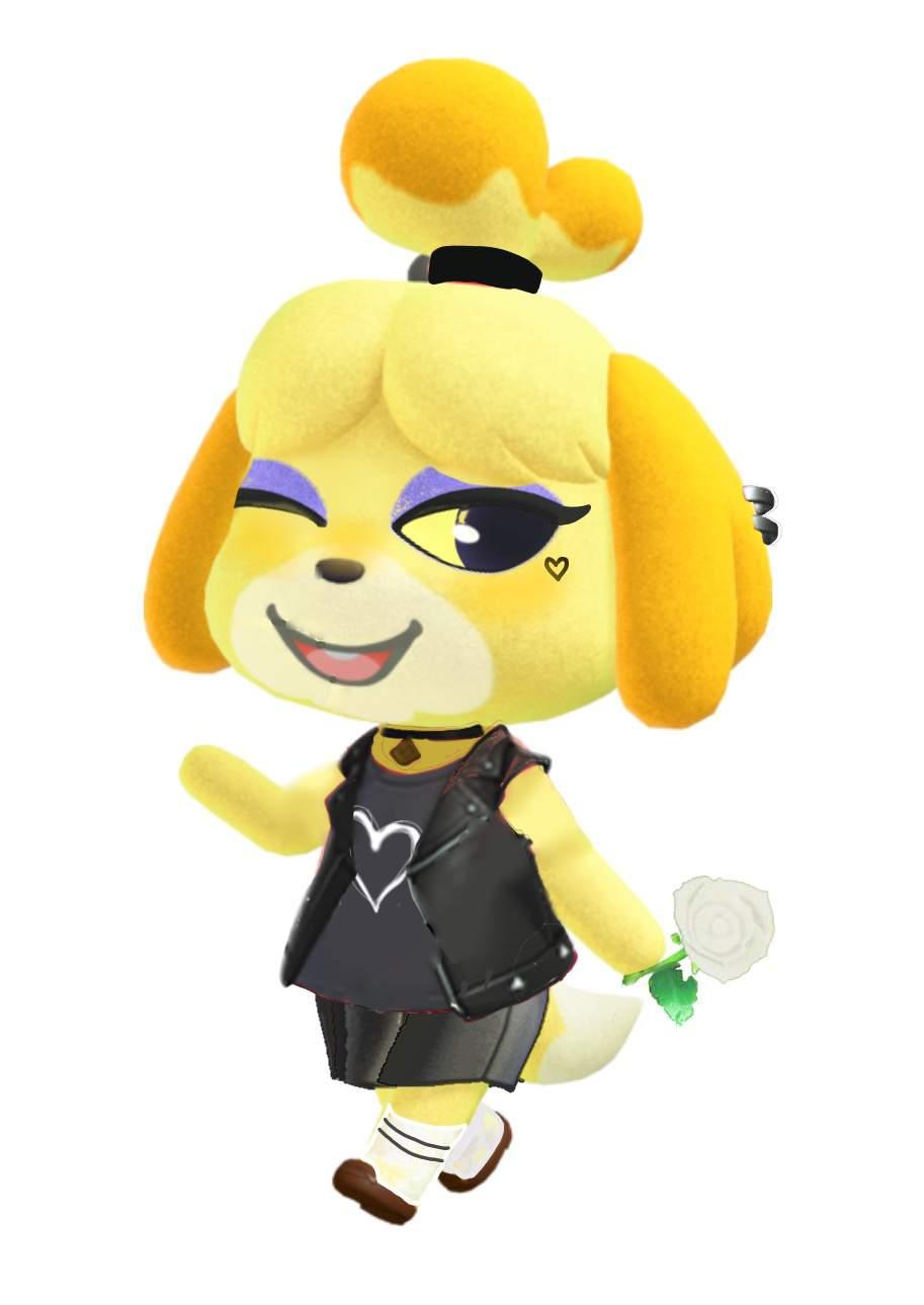 E Girl Isabelle Warning Cursed Nintendo Switch Amino