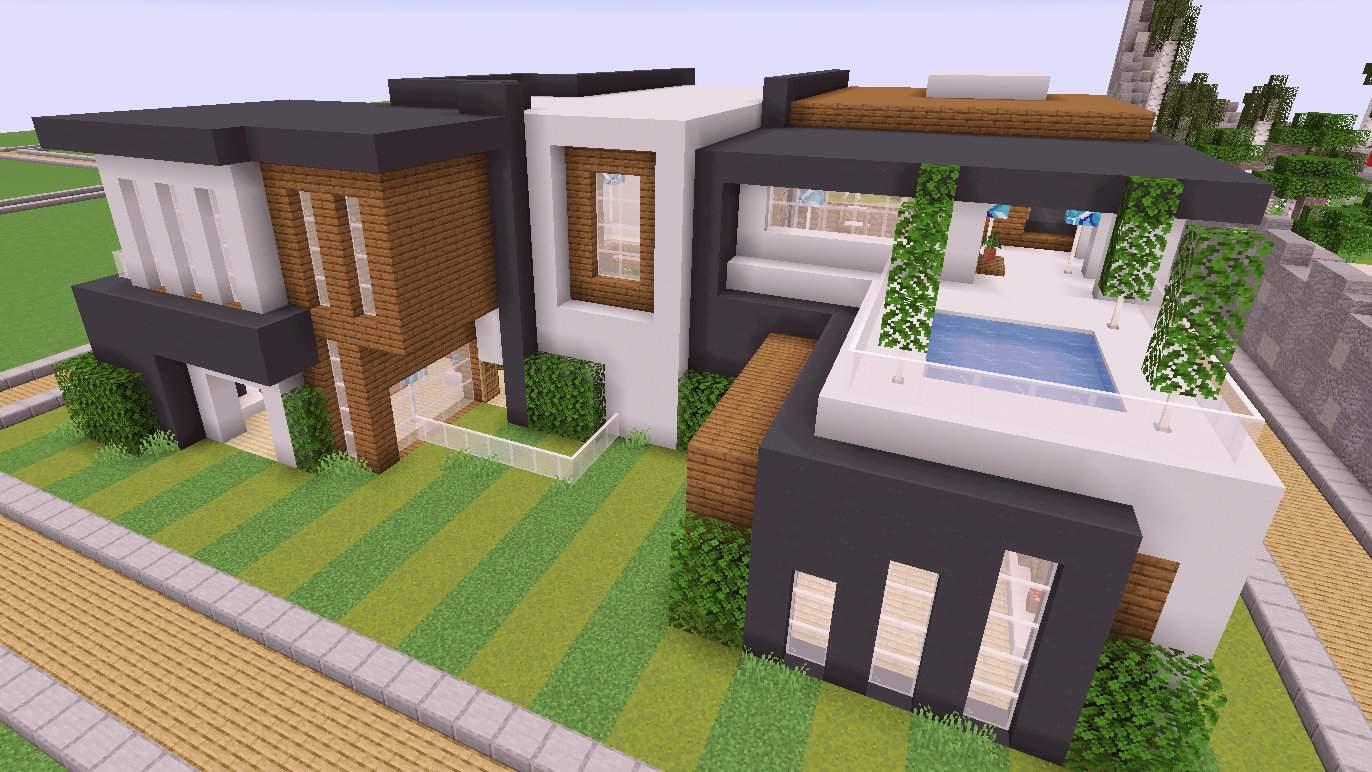 Modern House Build Minecraft Amino