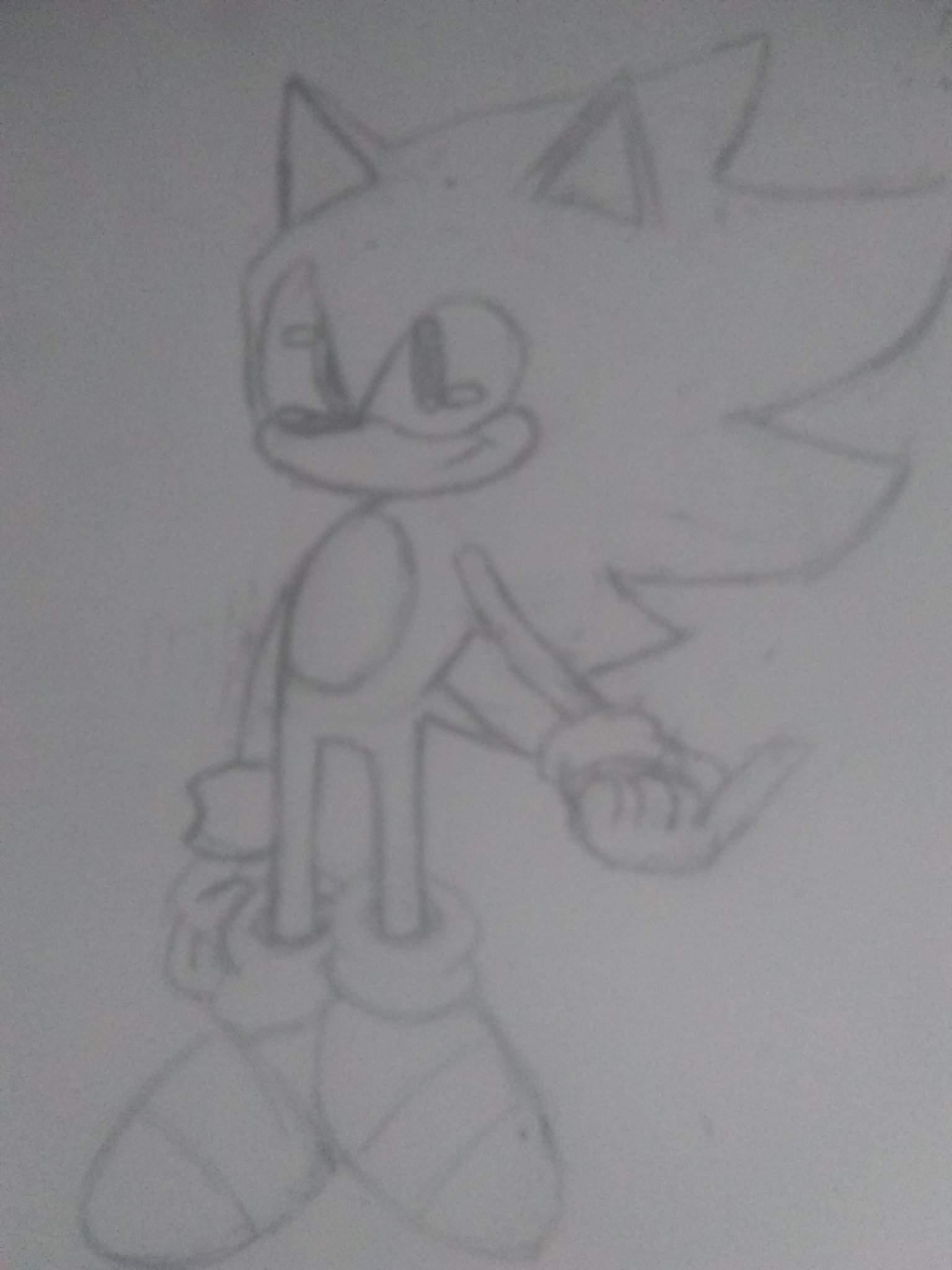 Super Sonic Sonic The Hedgehog Amino