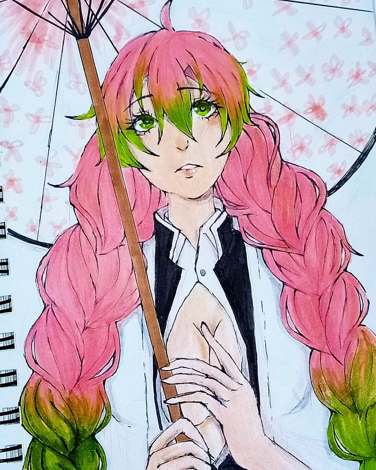 Fan Art Of Mitsuri Kanroji I Hope You Like It Demon Slayer Kimetsu No Yaiba Amino A character in kimetsu no yaiba. amino apps