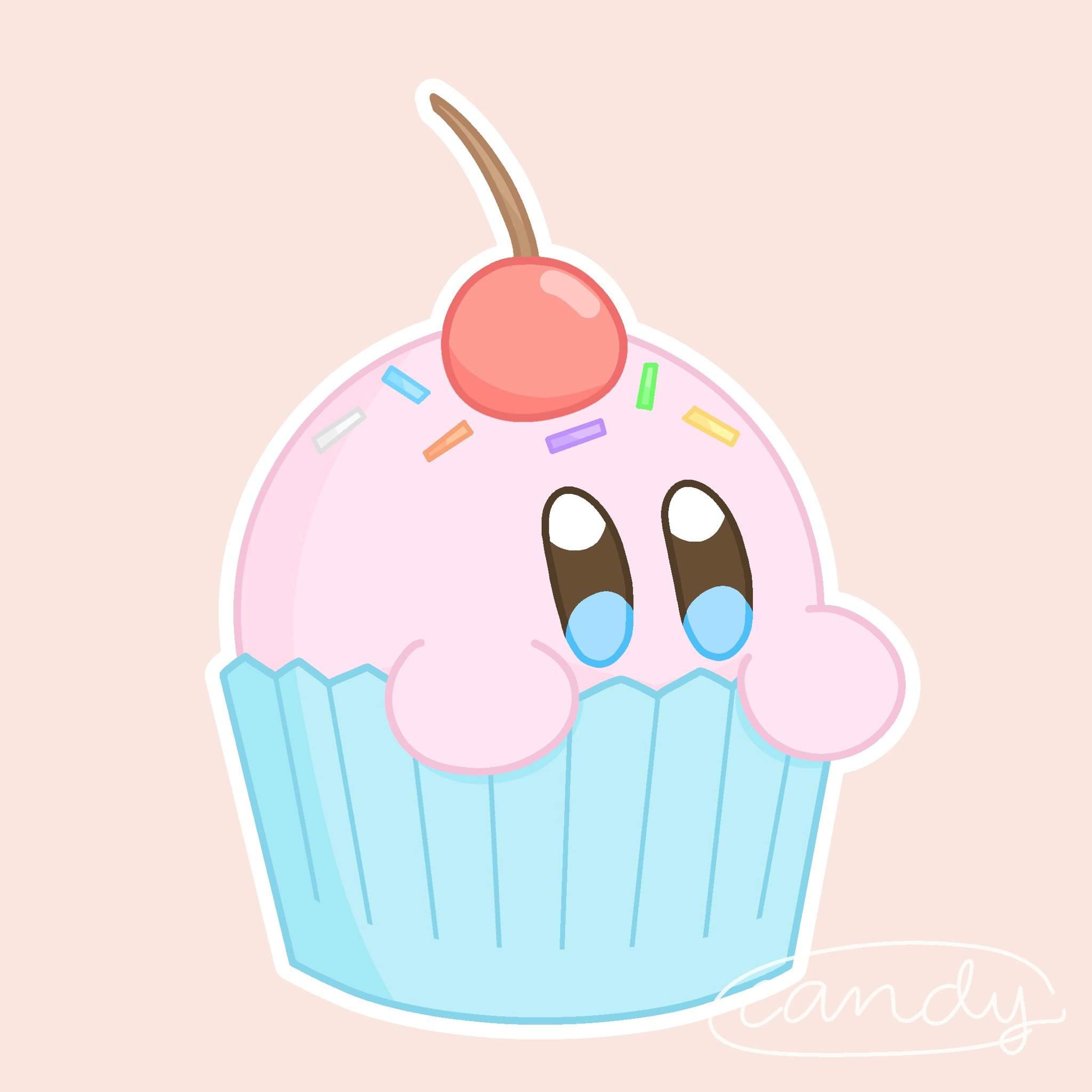 cupcake kirb   Kirby Amino