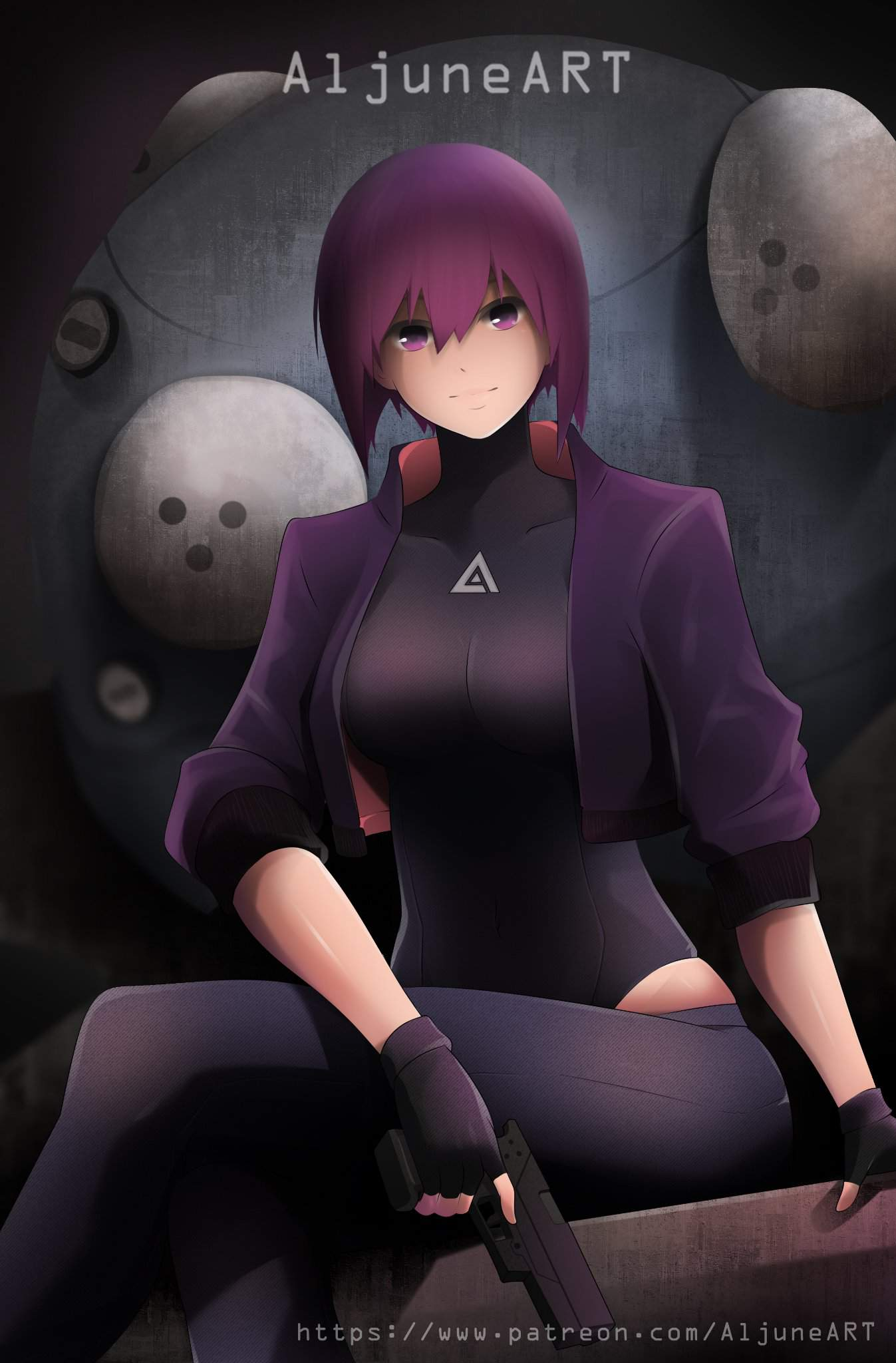 Ghost In The Shell Fanart Anime Amino