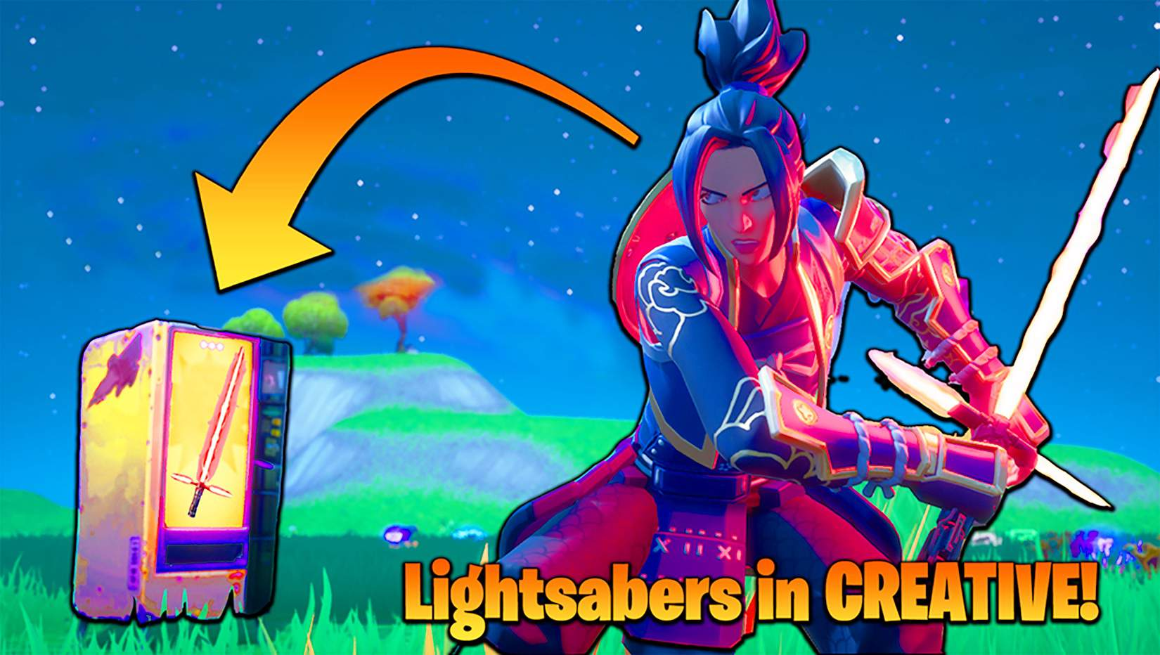 How To Get A Lightsaber On Fortnite New Video How To Get Lightsabers In Creative Mode Fortnite Battle Royale Armory Amino