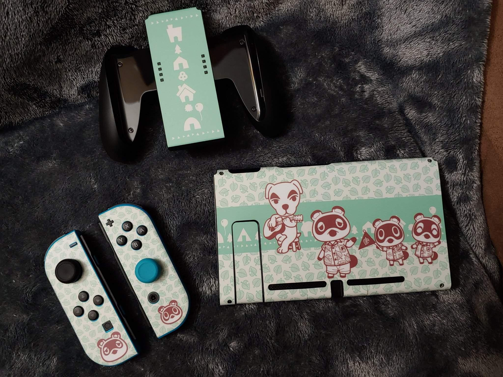My New Animal Crossing Switch Skin Nintendo Switch Amino