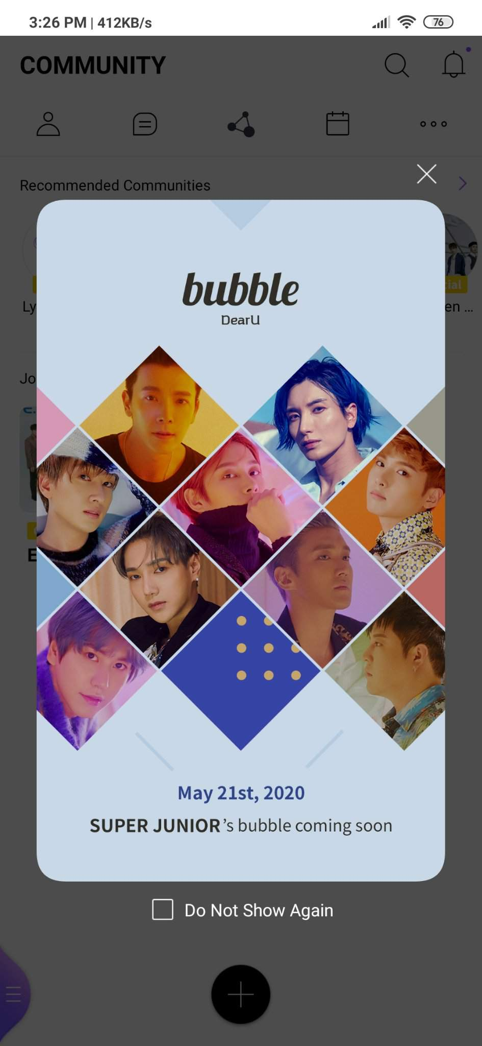 Q A For Lysn Bubble Partically Trans Super Junior Amino