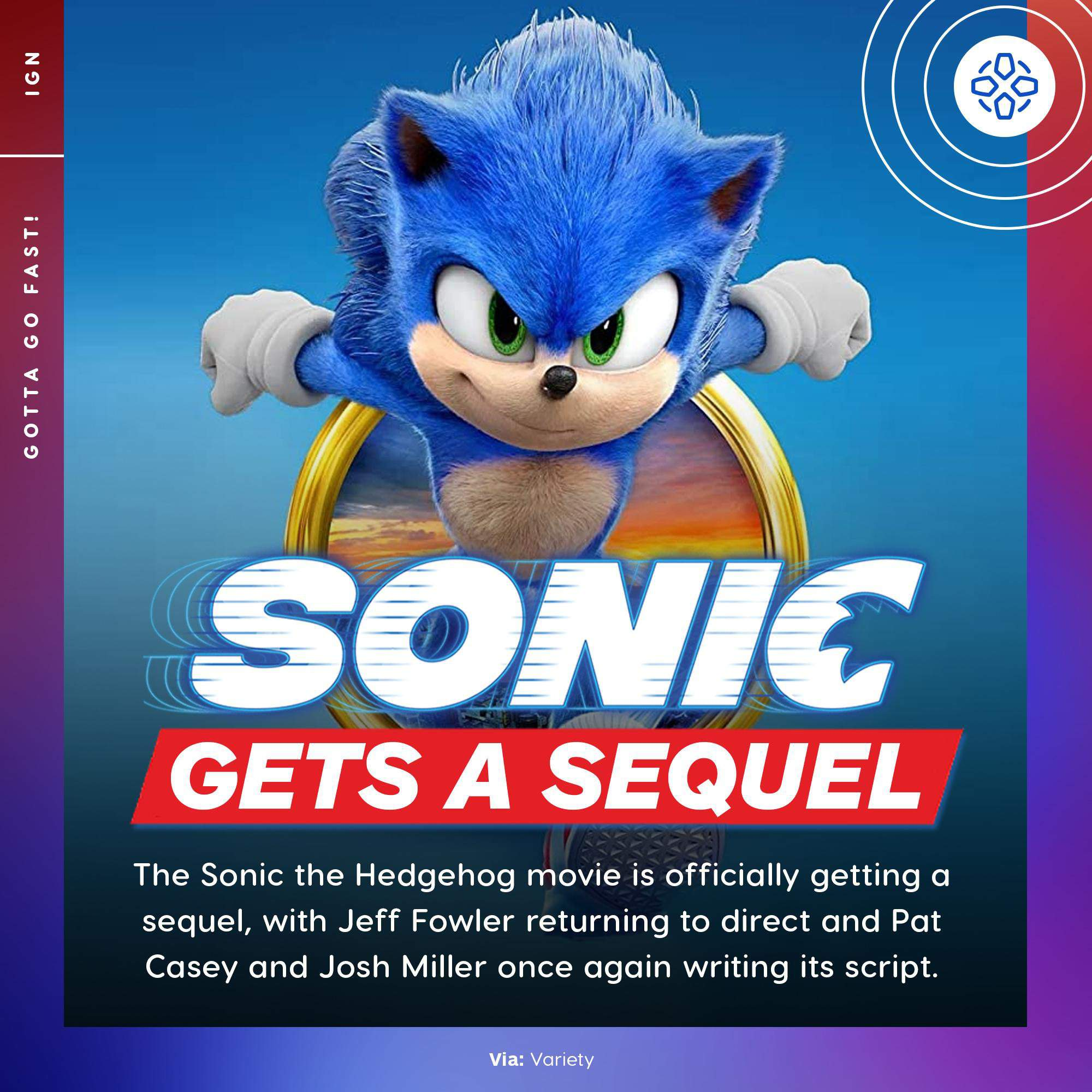 Sonic Movie 2 Is Coming Sonic The Hedgehog Amino