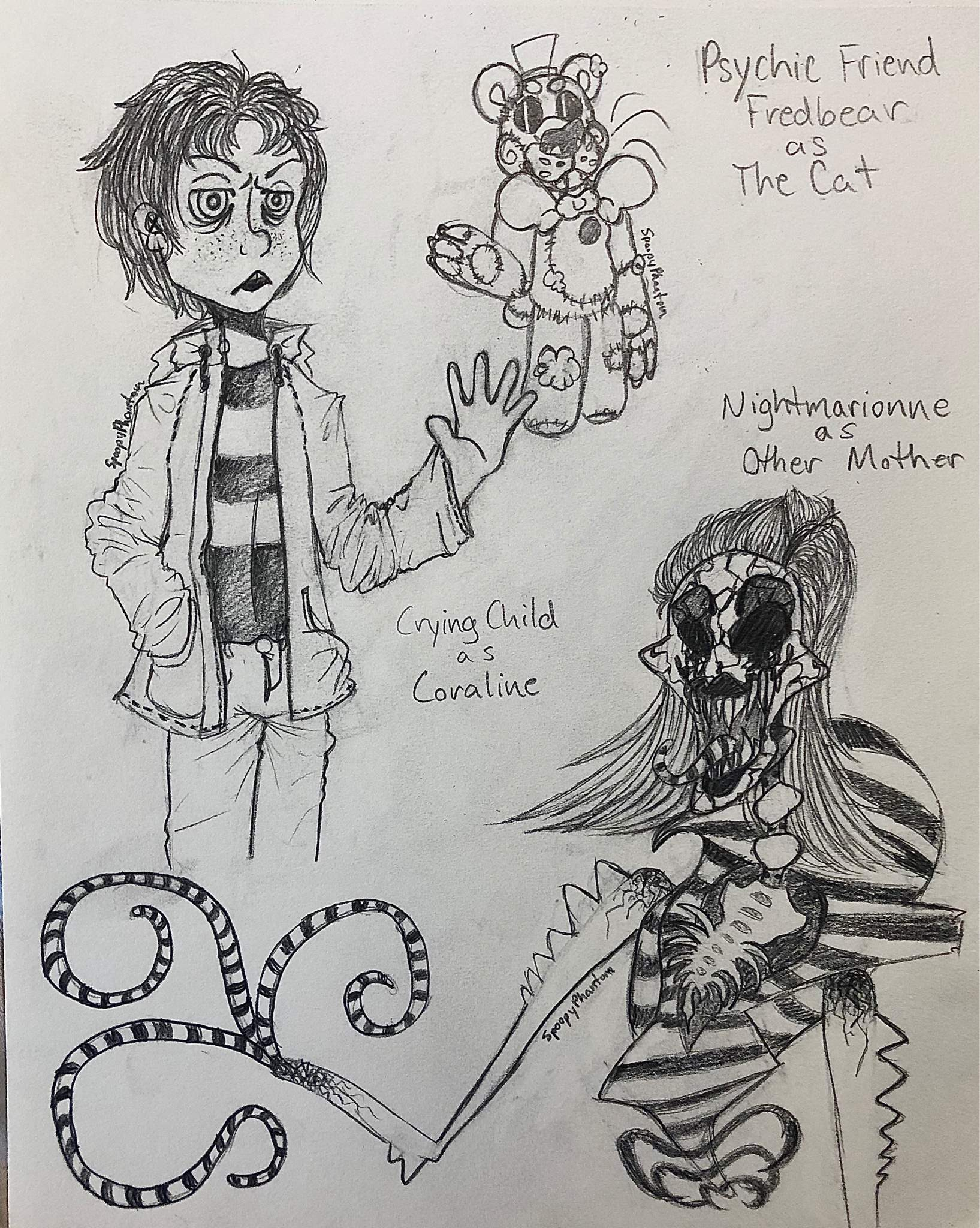 Coraline And Fnaf Crossover Five Nights At Freddy S Amino
