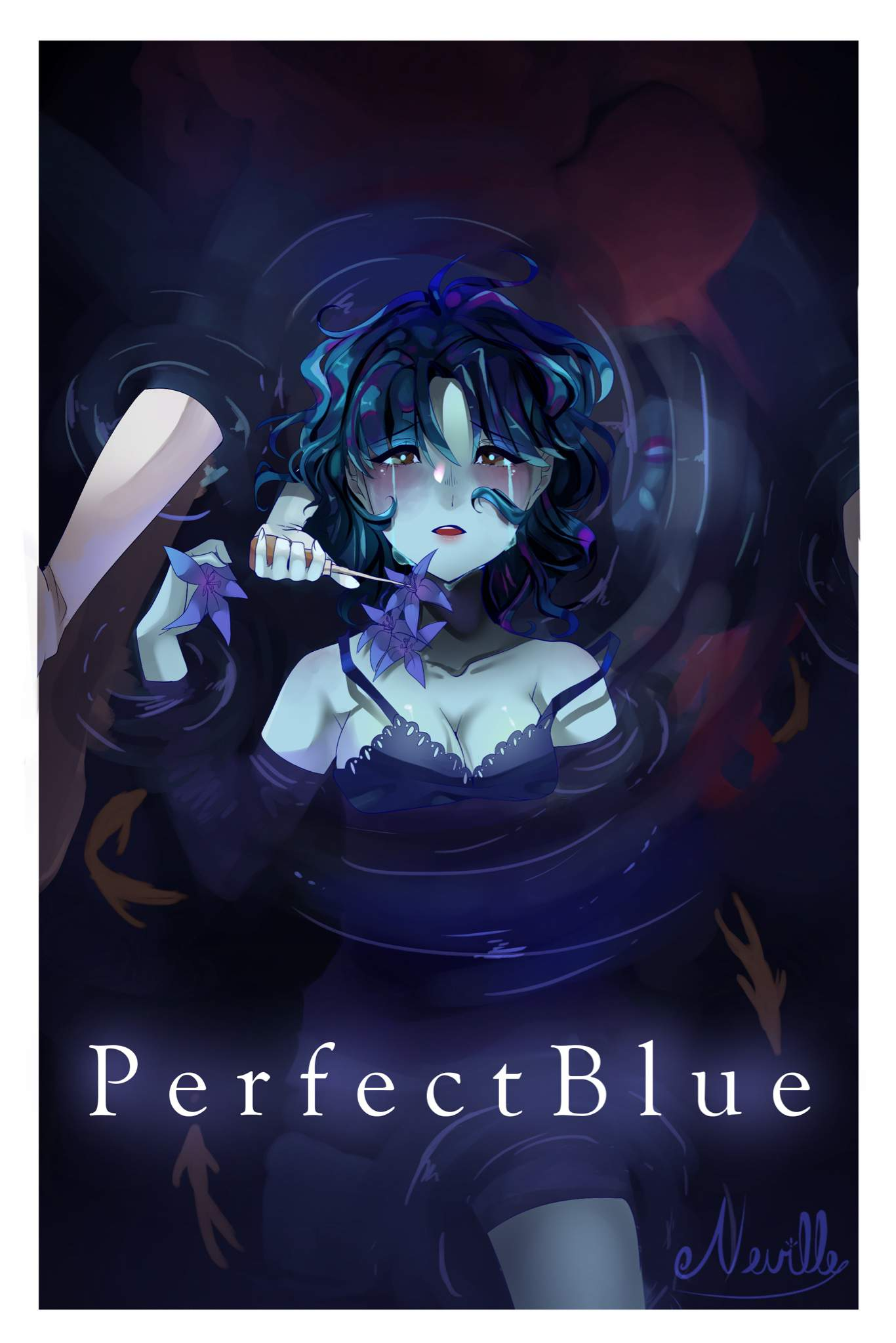 Art Perfect Blue Anime Amino