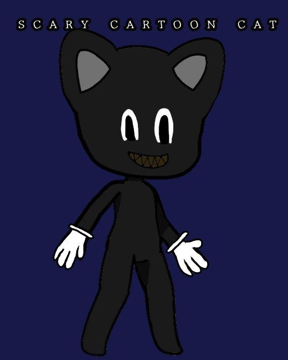 Scary Cartoon Cat Gacha Life Amino
