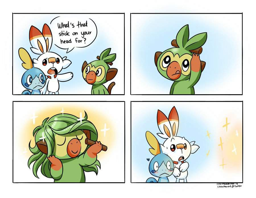 Fabulous Grookey Pokemon Amino View and download this 1012x1180 grookey image with 2 favorites, or browse the gallery. amino apps