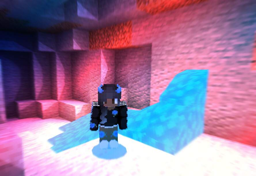 Blue Aesthetic Minecraft Amino