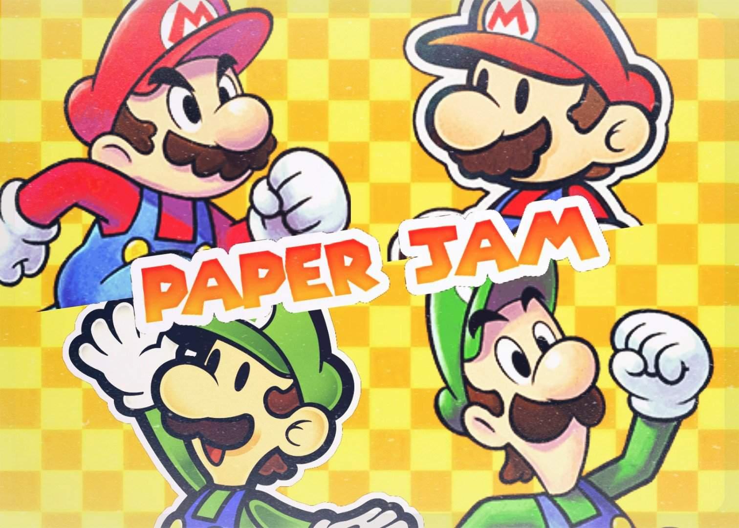 Mario Luigi Paper Jam Pt 2 Mario Amino