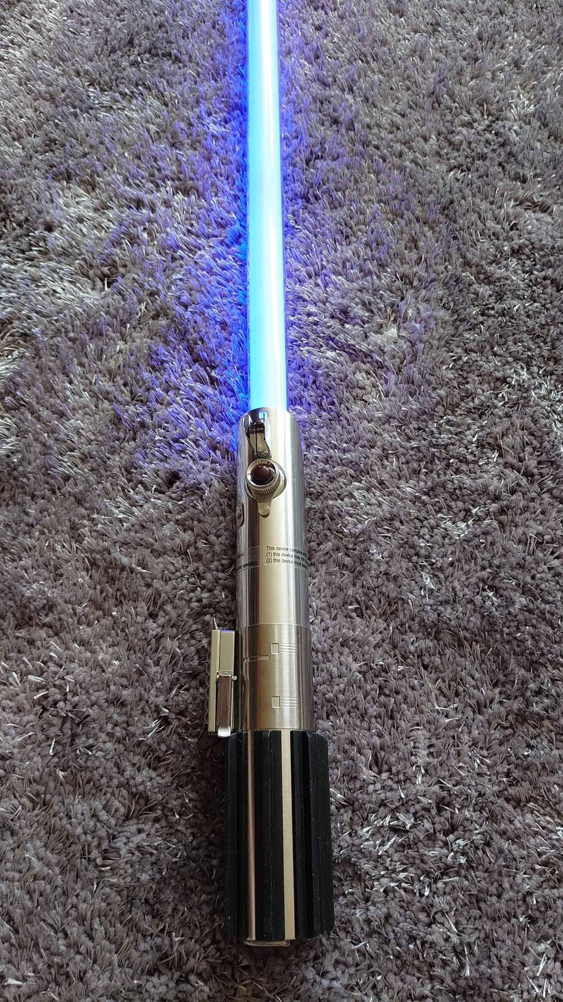 Master Replicas Luke Skywalker Anh Lightsaber Review Star Wars Amino