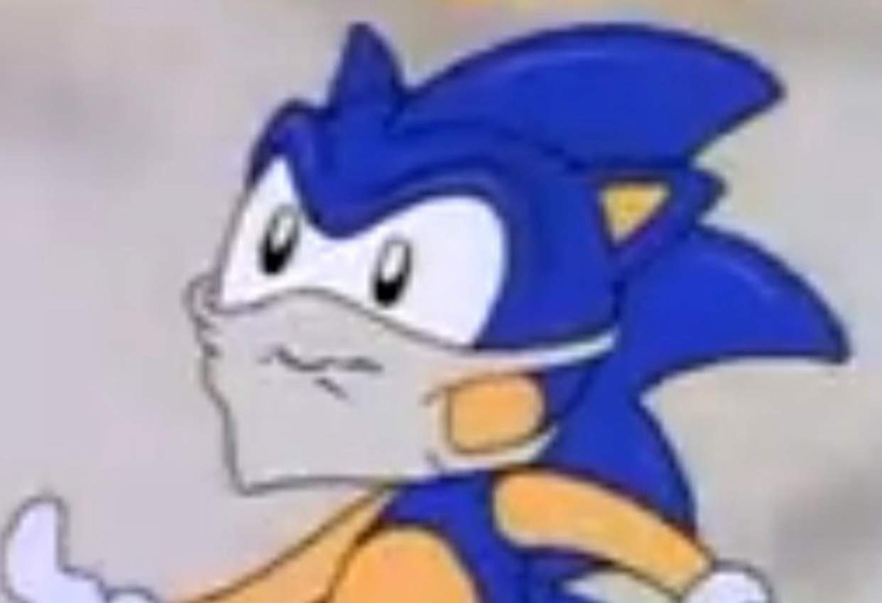 Even Sonic Wears A Mask Sonic The Hedgehog Amino