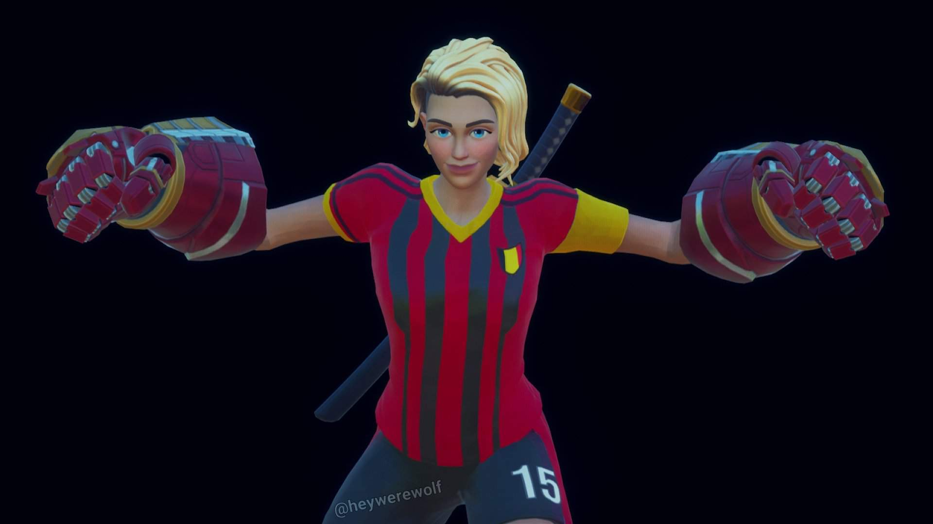 Soccer Skin In Her Final Form Fortography Fortnite Battle Royale Armory Amino