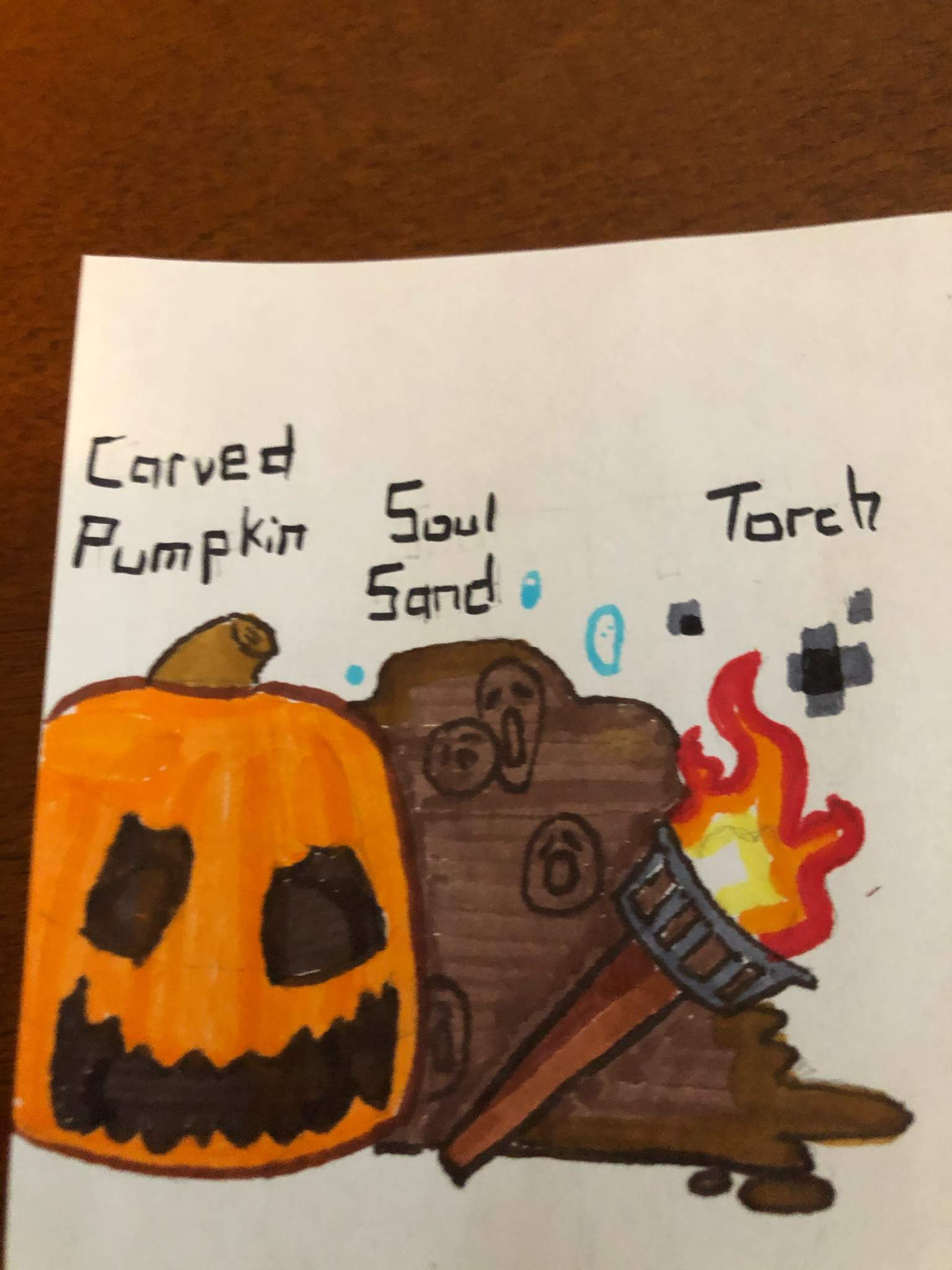 The Soul Jack O Lantern Soulom Minecraft Amino