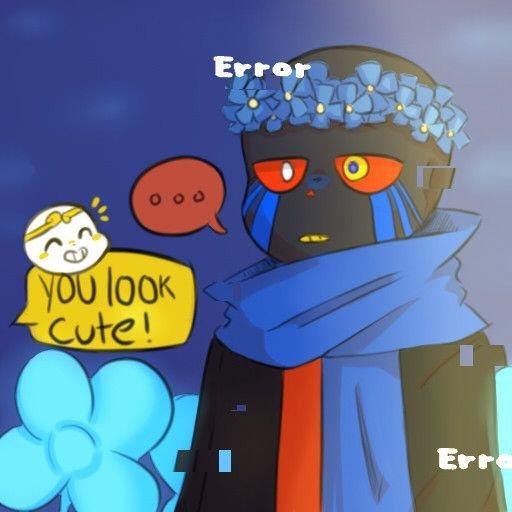 Cute Error Sans Undertale Amino