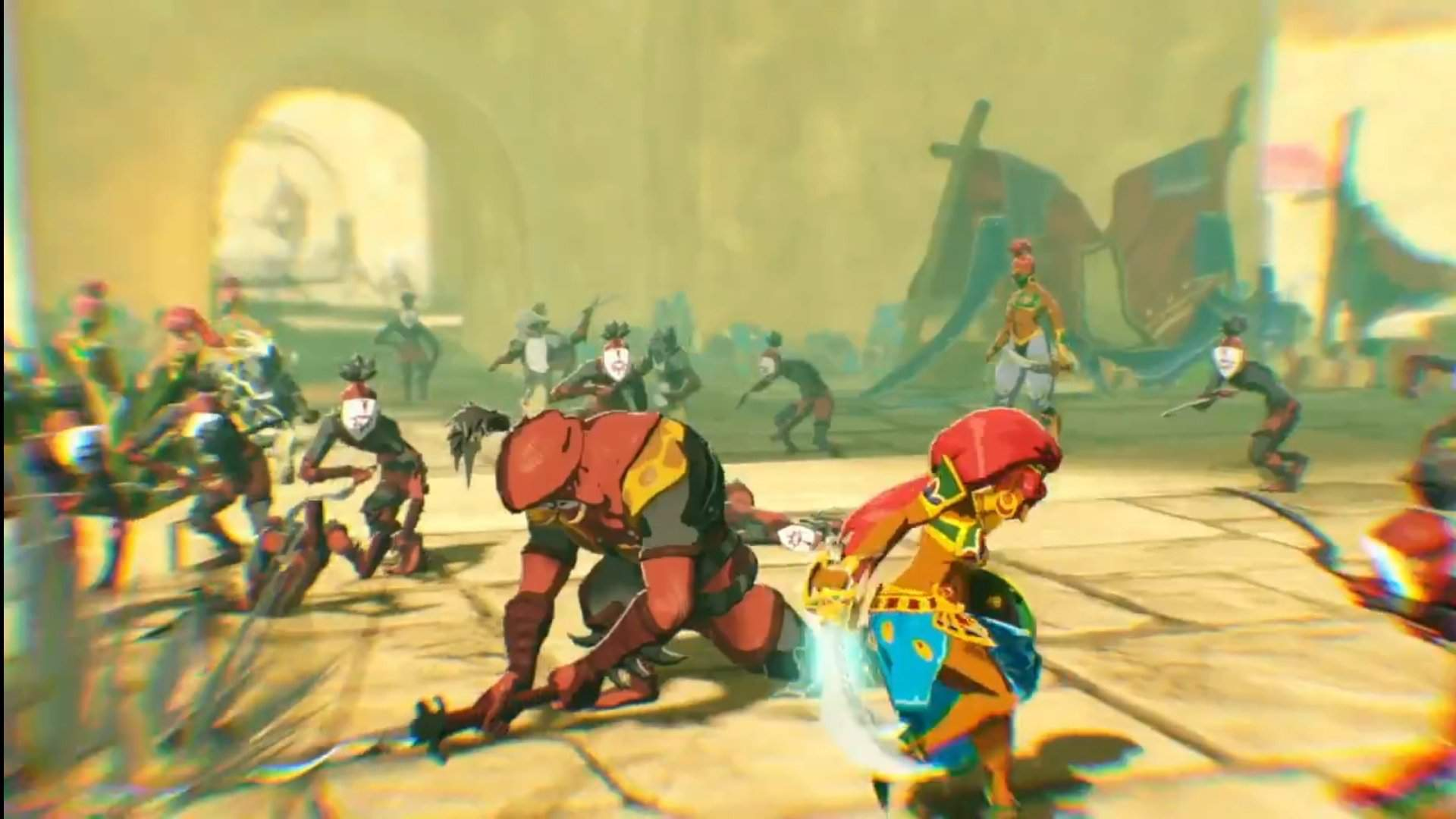 Hyrule Warriors Age Of Calamity Is A Botw Prequel Zelda Breath Of The Wild Amino Amino