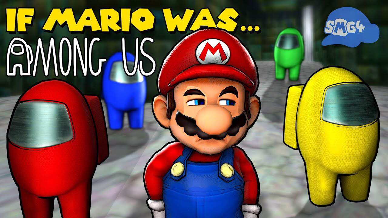 My Review On If Mario Was In Among Us Smg4 Amino